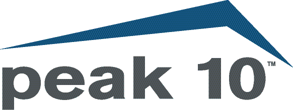 Peak 10 Logo - Cloud Solutions Provider