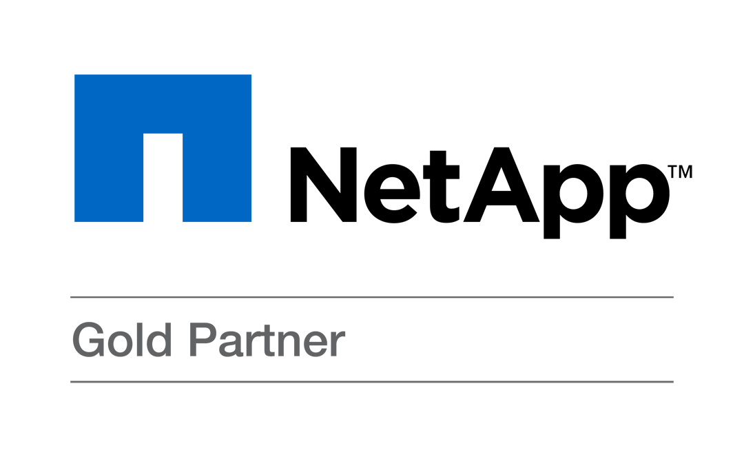 NetApp Gold Partner Logo - Cloud Solutions Provider