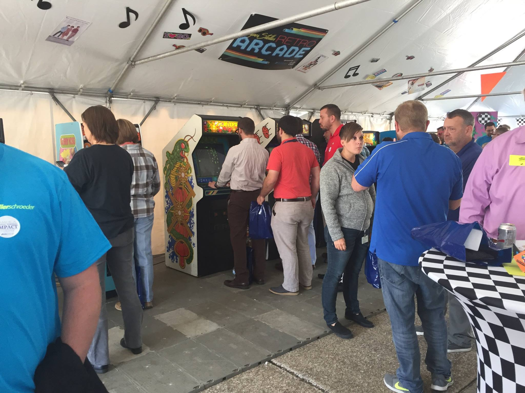 KS Client Appreciation Event Retro Arcade