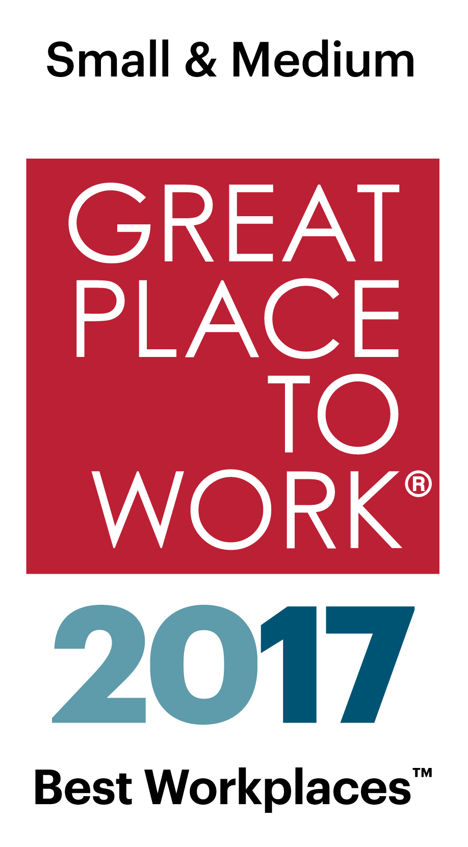 Best Small Workplaces 2017 Logo