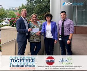 2018 Keller Schroeder Giving Alive Hospice