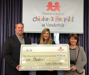 Children's Hospital at Vanderbilt Golf and Giving Recipient